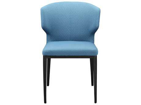 Moe's Home Collection Delaney Side Blue Dining Chair (Set of 2)