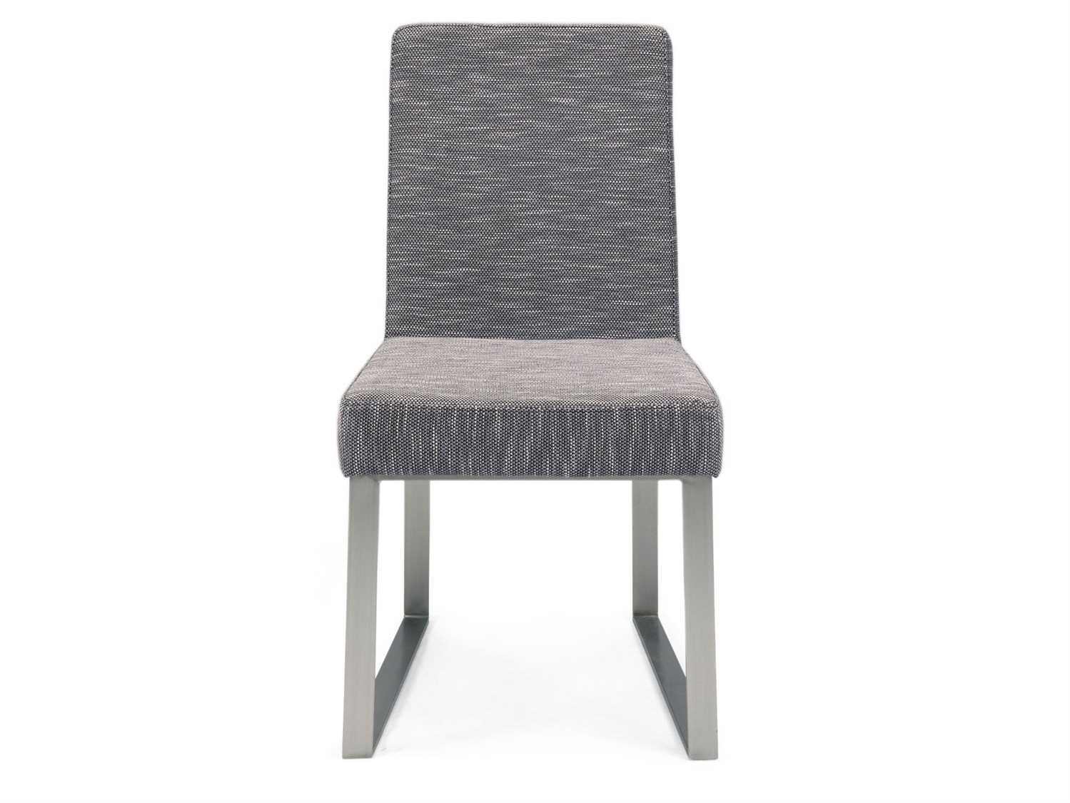 Moe S Home Collection Vivo Gray Chair Set Of 2 Meer101502