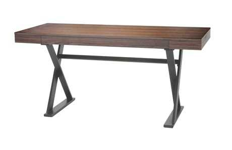 Moe's Home Collection Reale 63 x 26 Rectangular Walnut Desk