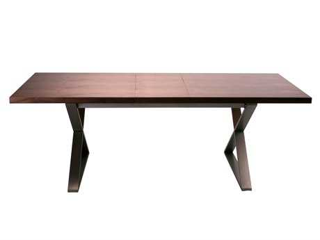 Moe's Home Collection Cabello 71 x 35 Rectangular Brown Extension Dining Table