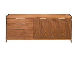 Moe's Home Collection Neo 75 x 17 Walnut Sideboard