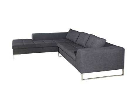 Moe's Home Collection Sulla Dark Gray Left Sectional