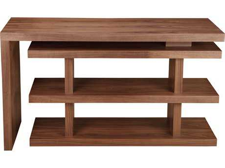 Moe's Home Collection Compac 53'' x 20'' Walnut Desk