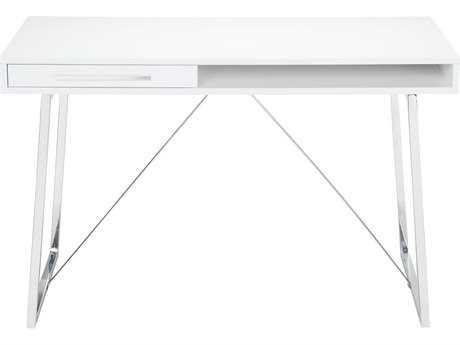 Moe's Home Collection Savina 48'' x 24'' White Computer Desk