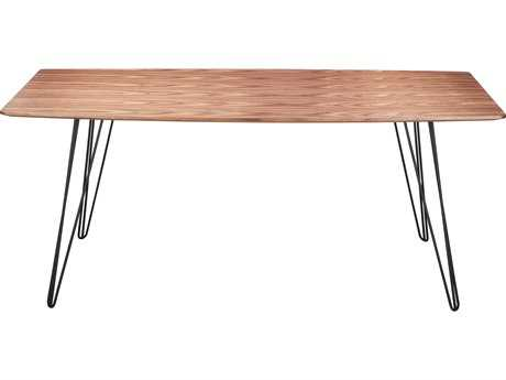 Moe's Home Collection Terzo 71'' x 35'' Rectangular Walnut Dining Table