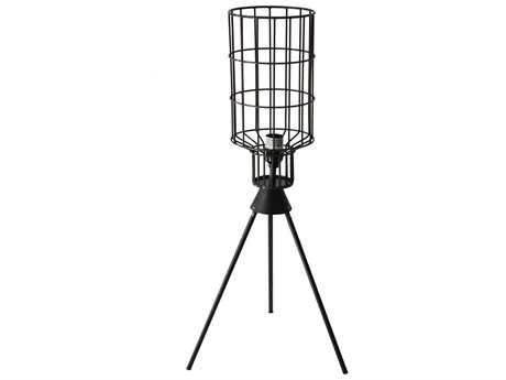 Moe's Home Collection Remo Charcoal Buffet Lamp
