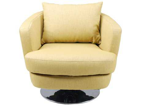 Moe's Home Collection Penny Lime Swivel Accent Chair