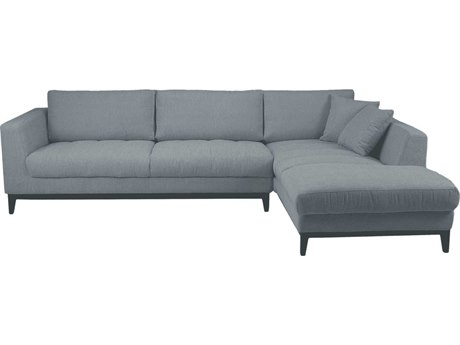 Moe's Home Collection Nickel Grey Right Sectional