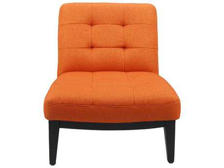 Moe's Home Collection Perry Orange Accent Chair