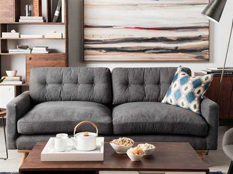 Moe's Home Collection Webster Gray Sofa