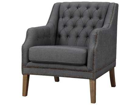 Moe's Home Collection Maddox Grey Accent Chair