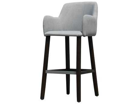 Moe's Home Collection Stanley Light Grey Bar Stool