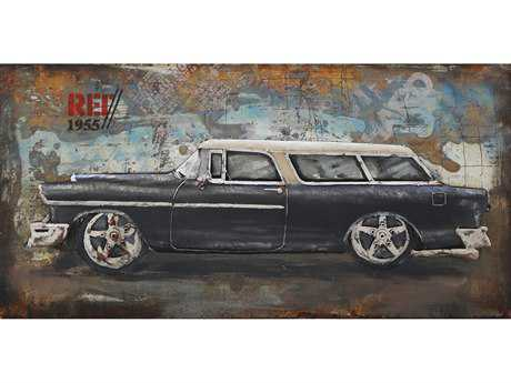 Moe's Home Collection Classic Car Wall Art