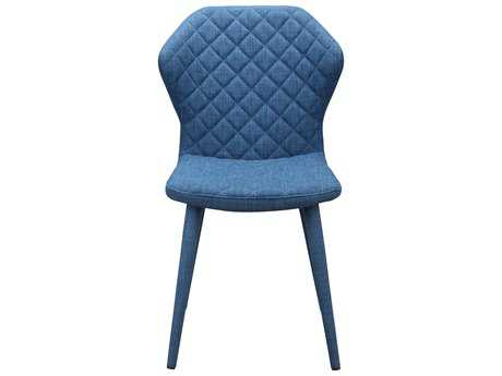 Moe's Home Collection Henry Blue Dining Chair (Set of 2)