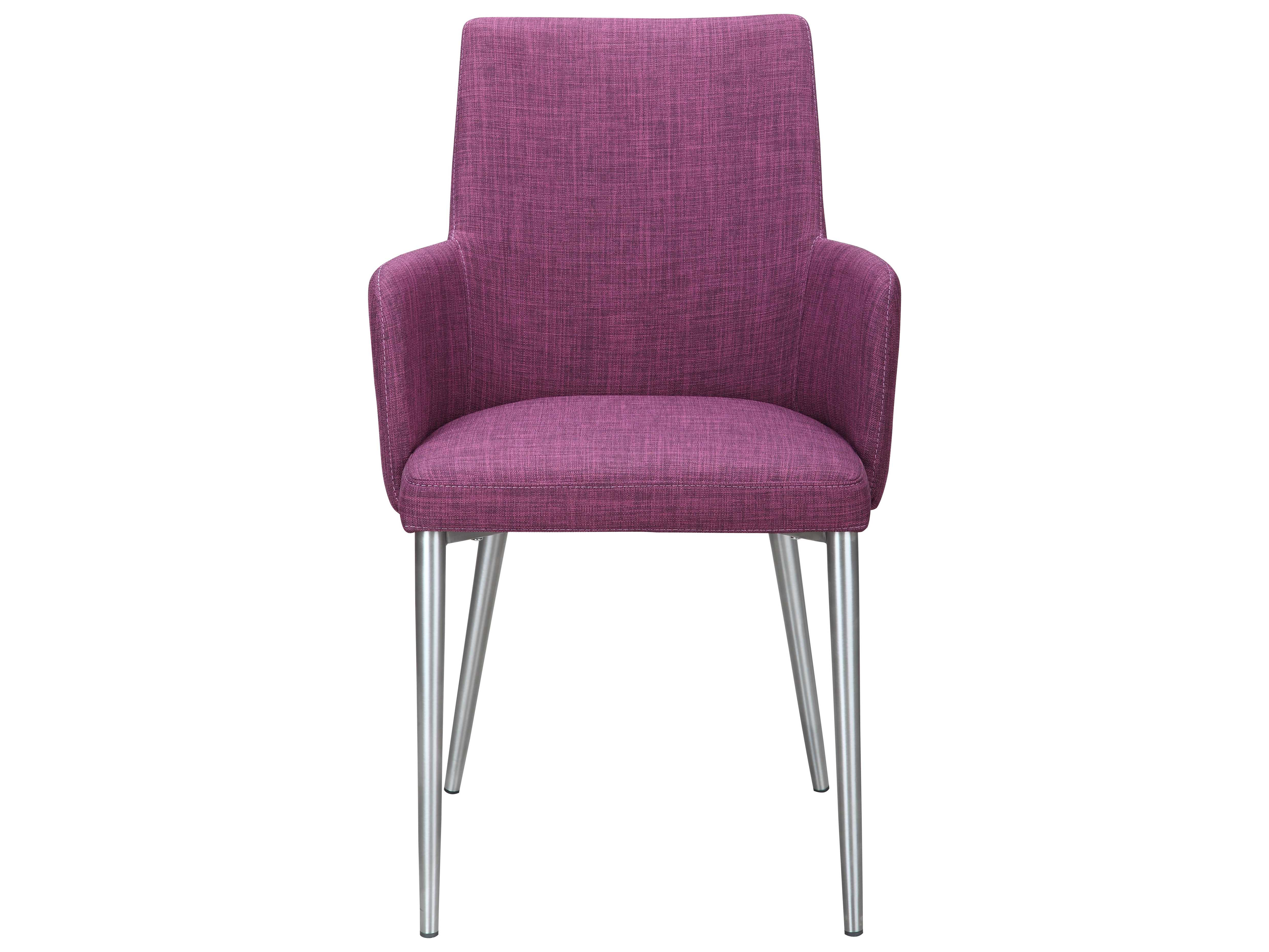 moe 39 s home collection flavia arm purple dining chair. Black Bedroom Furniture Sets. Home Design Ideas