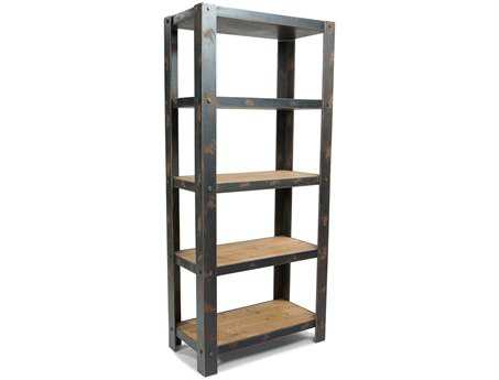 Moe's Home Collection Bolt Natural Etagere