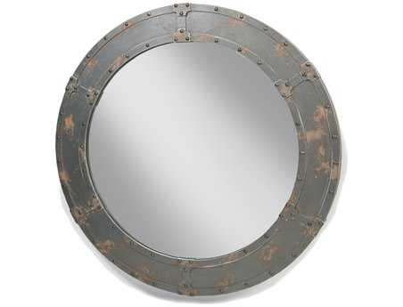 Moe's Home Collection 47 Round Nautic Wall Mirror