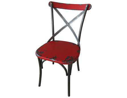 Moe's Home Collection Bali Red Dining Side Chair (Sold in 2)