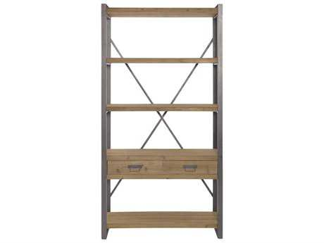Moe's Home Collection Lex 37.5'' x 13'' Natural Large Shelf