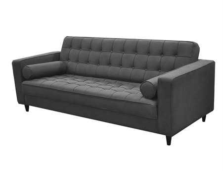 Moe's Home Collection Romano Dark Gray Sofa