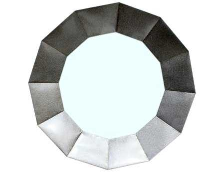 Moe's Home Collection 36 Round Dodecagon Wall Mirror