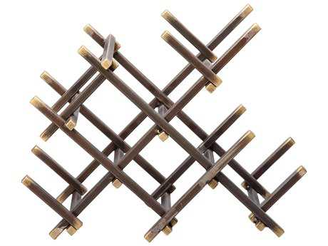 Moe's Home Collection Levels Wine Rack (Set of 2)