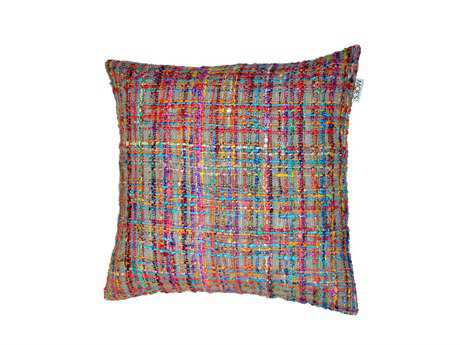 Moe's Home Collection Niche Multi-Color Cushion with Feather Insert