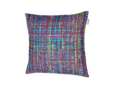 Moe's Home Collection Montage Multi-Color Cushion with Feather Insert