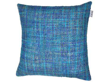 Moe's Home Collection Mosaic Blue Cushion with Feather Insert