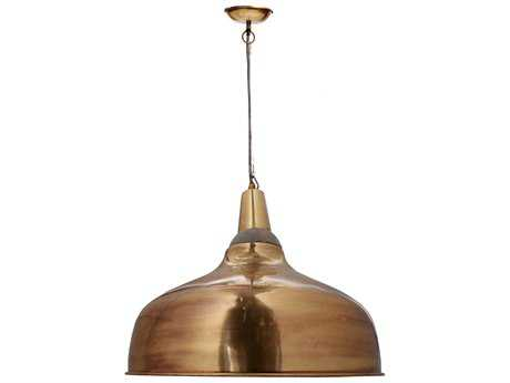 Moe's Home Collection Silas 20.5'' Wide Gold Pendant Light