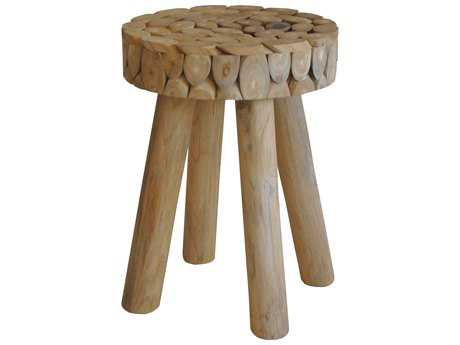 Moe's Home Collection Petra Natural Accent Stool