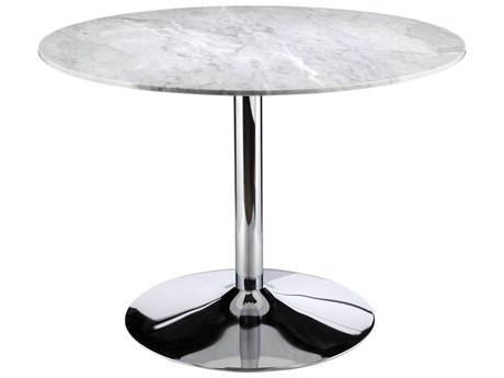 Moe's Home Collection Vermont White 41.75'' Round Dining Table