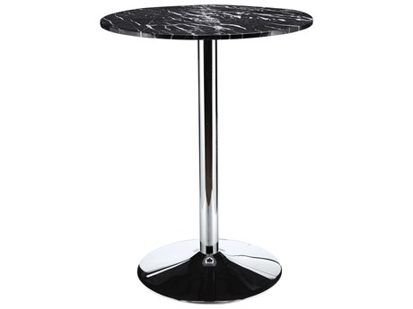 Moe's Home Collection Paros Black 31.5'' Round Bar Table