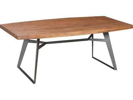Moe's Home Collection Drift 94'' x 42'' Rectangular Large Brown Dining Table