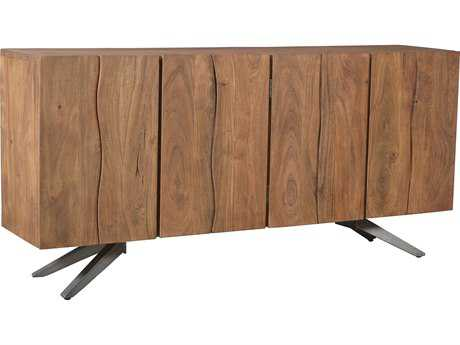 Moe's Home Collection Air Loft 76'' x 18'' Acacia Wood Sideboard