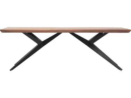 Moe's Home Collection Air Loft 94'' x 40'' Rectangular Brown Dining Table
