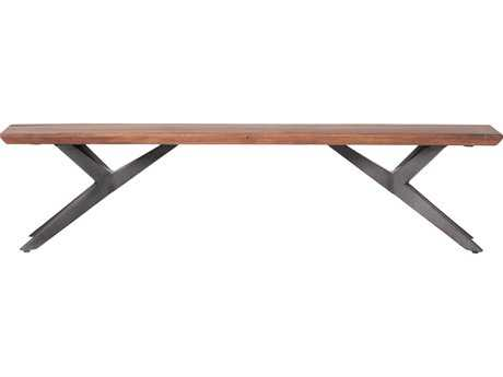 Moe's Home Collection Air Loft Brown Accent Bench