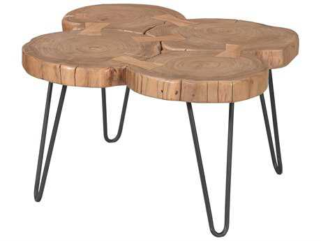 Moe's Home Collection Adele 28'' x 30'' Natural Coffee Table
