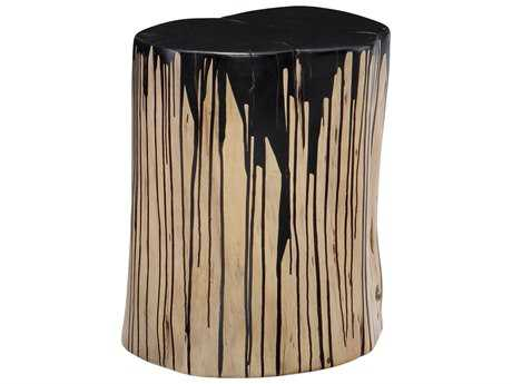 Moe's Home Collection Stump Black Accent Stool