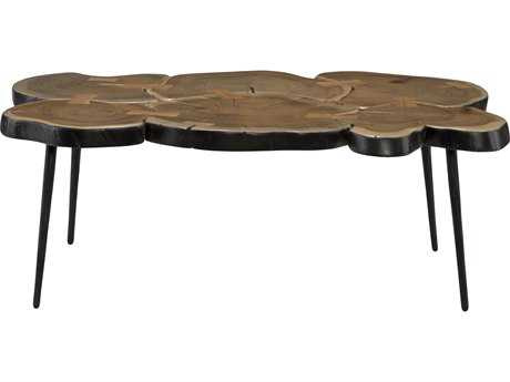 Moe's Home Collection Horatio 37.5'' x 23.5'' Natural Coffee Table