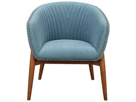 Moe's Home Collection Kismet Blue Tub Accent Chair