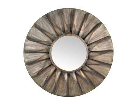 Moe's Home Collection 38 Round Antique Wall Mirror