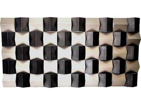 Moe's Home Collection ''Checkered Rectangular'' Wall Decor
