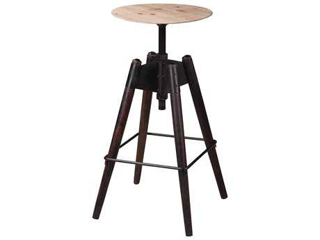 Moe's Home Collection Cascade Fir Veneer Adjustable Stool