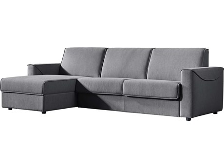 Moe's Home Collection Chill Grey Left Storage Sofa