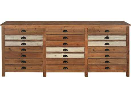 Moe's Home Collection Pioneer 86'' x 19.5'' Solid Reclaimed Pine Wood Sideboard