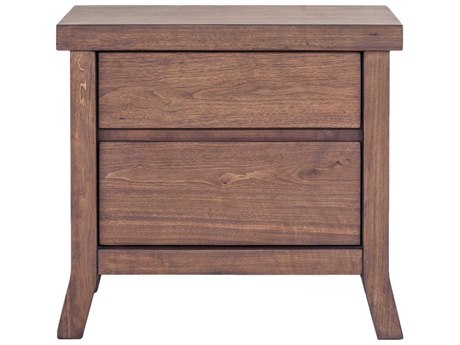 Moe's Home Collection Camden 26'' x 18'' Brown Rectangular Nightstand