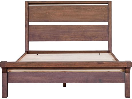 Moe's Home Collection Camden Brown Queen Panel Bed