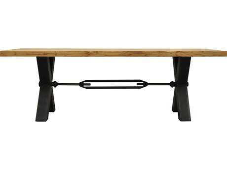 Moe's Home Collection Kansas 94.5'' x 39'' Rectangular Natural Dining Table