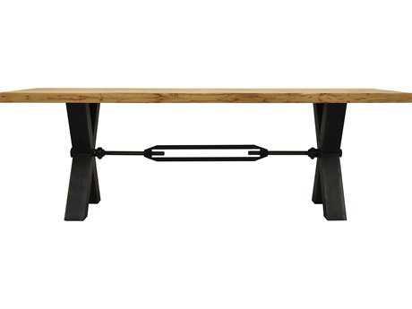 Moe's Home Collection Kansas 94.5'' x 39'' Rectangular Natural Dining Table